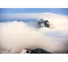Mount Hood under a Lenticular Cloud Photographic Print