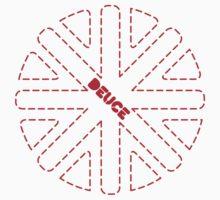 Deuce Union Jack Design Kids Tee