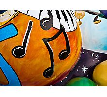 Orange Notes Photographic Print
