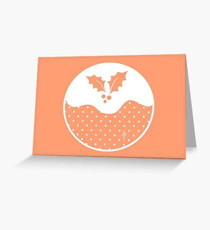 Pudding Greeting Card