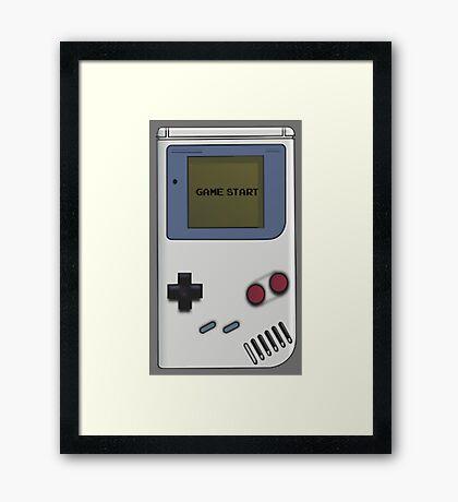 Nintendo Gameboy  Framed Print