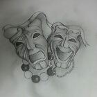 comedy and tragedy by Cyron Quinones