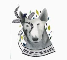 Bull Terrier by Libby Riseborough