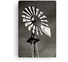 As The Wind Blows Canvas Print