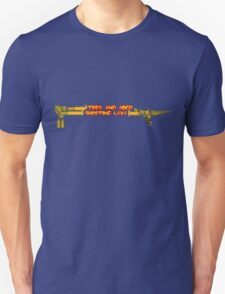 Troy and Abed Shooting Lava! Unisex T-Shirt