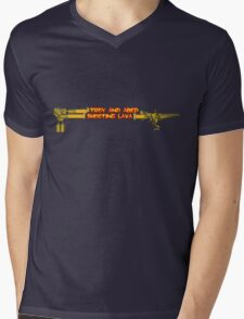 Troy and Abed Shooting Lava! Mens V-Neck T-Shirt