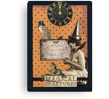 Magical Creatures Canvas Print