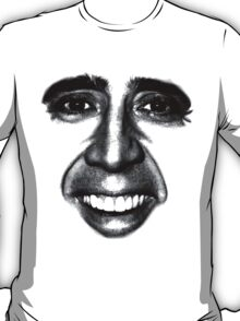 Nicolas Cage as a T-Shirt T-Shirt