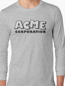 ACME corporation (semi trans) Long Sleeve T-Shirt