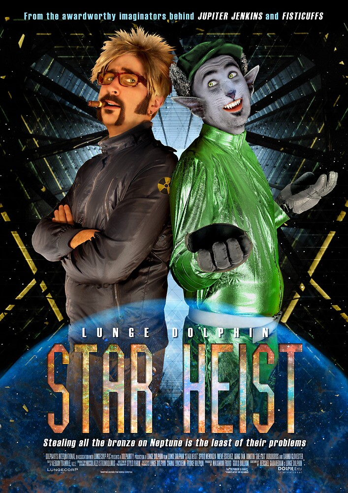 Poster/Postcard - Star Heist by LungeDolphin