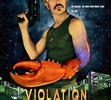 Poster/Postcard - Violation Station by LungeDolphin