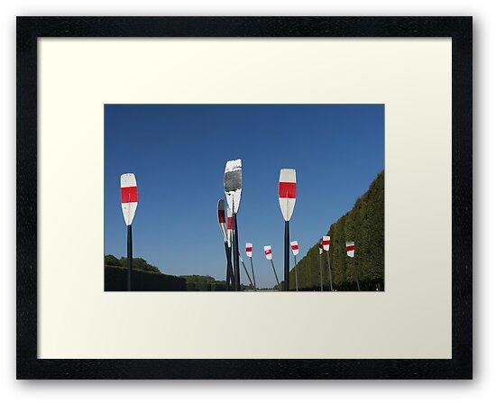 Versailles Rowers by Mark Higgins