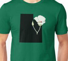 Utah Silhouette and Flower Unisex T-Shirt