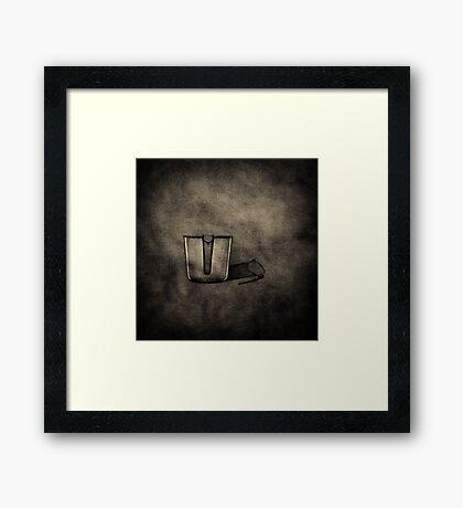 Beaker Framed Print