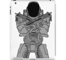 Daft Halo Chrome iPad Case/Skin
