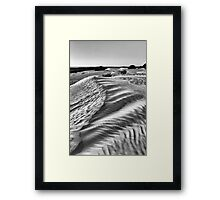 Dunes at Nambung National Park, W.A. Framed Print