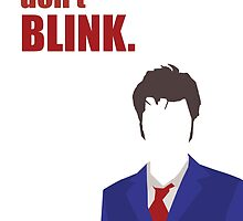 Don't Blink - 10th Doctor by pithypenny