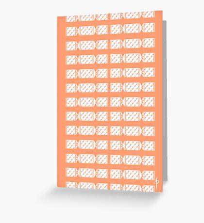 Cracker Pattern Greeting Card