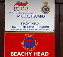 Beachy Head Chaplaincy sign by Keith Larby