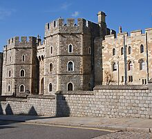 Windsor castle by Keith Larby