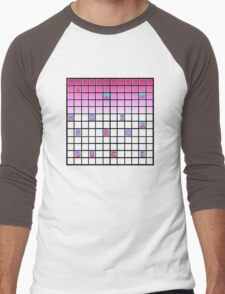 nope pink Men's Baseball ¾ T-Shirt