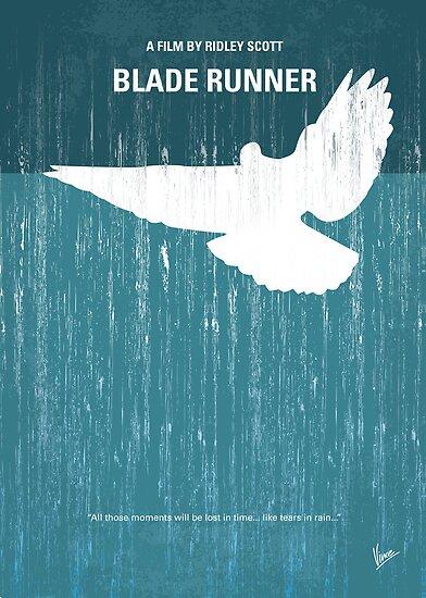 No011 My Blade Runner minimal movie poster by Chungkong