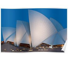 Sydney Opera House in Spring Poster