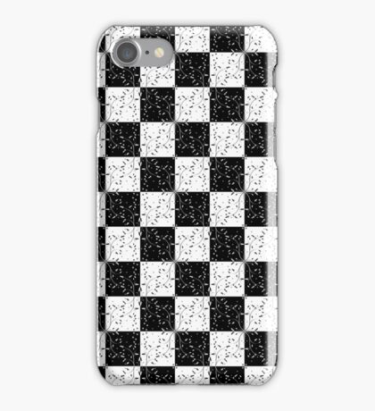 Floral Checkers iPhone/iPod Case iPhone Case/Skin