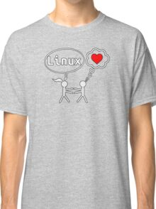 Linux Lover Classic T-Shirt