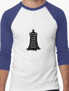 "Batman ""I  solemnly swear by my office as a... Men's Baseball ¾ T-Shirt"