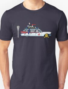 Ghostbusters Cadillac Wheel Clamp  Unisex T-Shirt