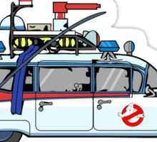 Ghostbusters Cadillac Wheel Clamp  Sticker