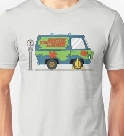 Mystery Machine Wheel Clamp  T-Shirt