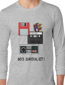 80's survival kit Long Sleeve T-Shirt