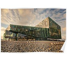 Harpa Conference Center, Iceland Poster