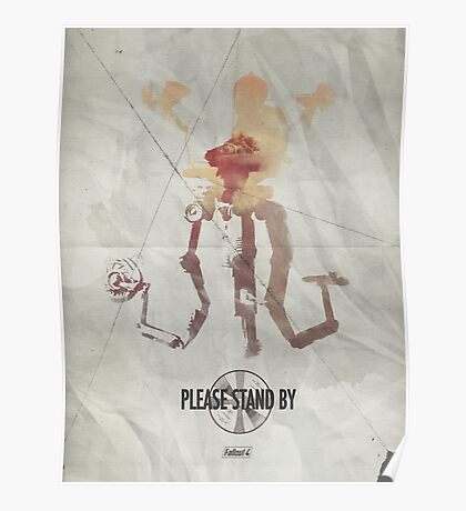 Mister Handy - Please Stand By Poster