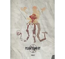 Mister Handy - Please Stand By Photographic Print