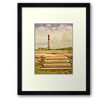 Cornish Tin Mine At Levant Framed Print