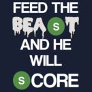 'Feed The Beast' Marshawn Lynch by Benners