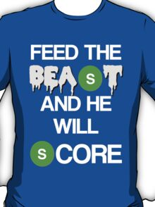 'Feed The Beast' Marshawn Lynch T-Shirt