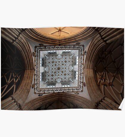 York Minster - Ceiling  Poster