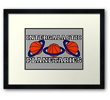 Intergalactic Planetaries Framed Print