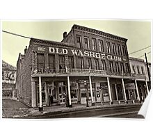 Old Washoe Club 1862 Poster