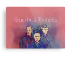 3 Sherlock Metal Print