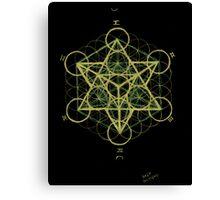 Metatron's cube Canvas Print
