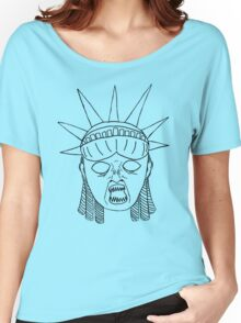 Statue of Liberty--Weeping Angel Women's Relaxed Fit T-Shirt