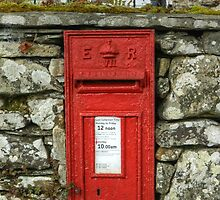 Edward VII Postbox by Jamie  Green
