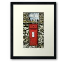 Edward VII Postbox Framed Print