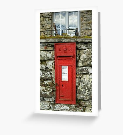 Edward VII Postbox Greeting Card
