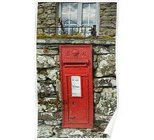 Edward VII Postbox Poster
